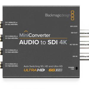 Blackmagic, Design, Mini, Convertor, Audio, la, SDI, 4K [1]