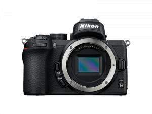 Nikon Z50 Aparat Foto Mirrorless 21MP Kit cu Obiectiv Nikkor Z DX 16-50mm f3.5-6.3 VR12