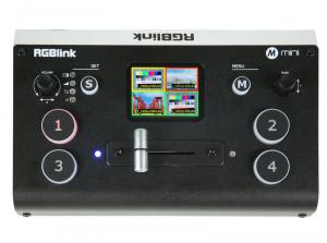 RGBlink Mini Mixer video cu vizualizare multi-view