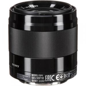 Sony E 50mm f/1.8 OSS Obiectiv APS-C1