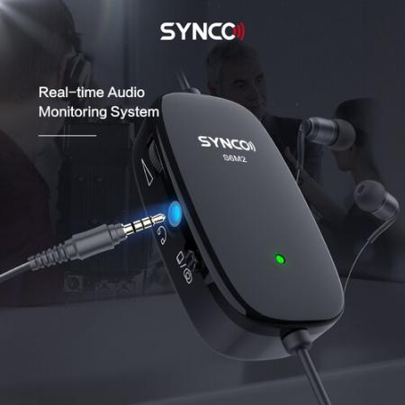 Synco Lav-S6M2 Lavaliera cu monitorizare Real-Time si Gain Control [7]