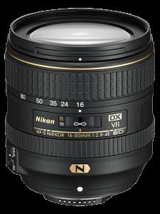 Nikon AF-S DX NIKKOR 16-80mm Obiectiv Foto DSLR f/2.8-4E ED VR0