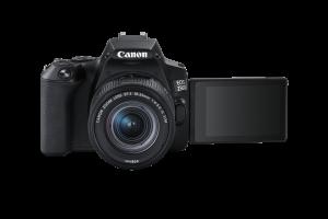 Canon EOS 250D Aparat Foto DSLR Kit cu Obiectiv EF-S 18-55mm IS STM Negru [2]