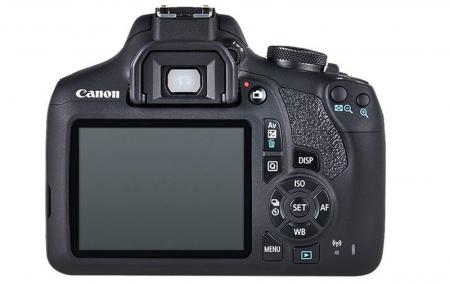 Canon EOS 2000D 24.1MP Kit Aparat foto cu obiectiv EF-S 18-55mm IS II cu Stabilizare [3]
