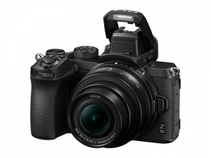 Nikon Z50 Aparat Foto Mirrorless 21MP Kit cu Obiectiv Nikkor Z DX 16-50mm f3.5-6.3 VR3