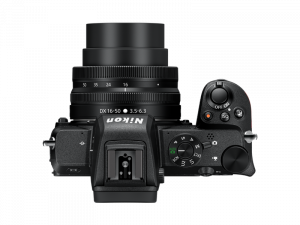 Nikon Z50 Aparat Foto Mirrorless 21MP Kit cu Obiectiv Nikkor Z DX 16-50mm f3.5-6.3 VR2