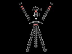 Joby GorillaPod 3K PRO Rig Kit Vlog cu 1 LED si Microfon3
