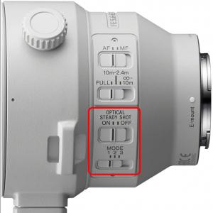 Sony Obiectiv Foto Mirrorless f/5.6-6.3 G OSS 200-600mm Montura Sony FE [1]