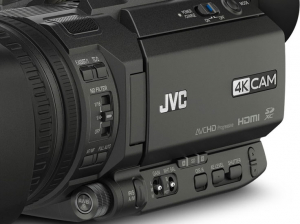 JVC GY-HM250ESB Camera video 4K Live Streaming Sport