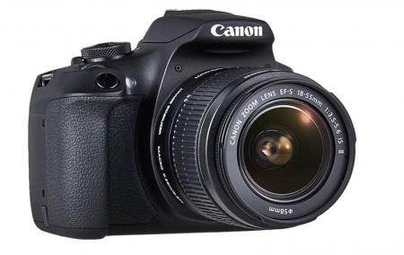 Canon EOS 2000D 24.1MP Kit Aparat foto cu obiectiv EF-S 18-55mm IS II cu Stabilizare [4]