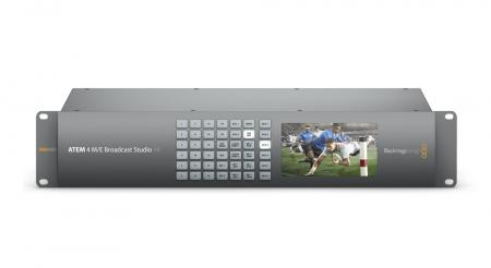 Blackmagic Design ATEM 4 M/E Broadcast Studio Switcher 4K0