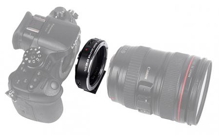 Viltrox EF-M2 II 0.71x SpeedBooster Mount Adapter For Canon EF-Mount Lens To MFT Camera [2]