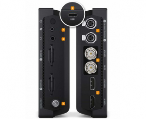 "Blackmagic Monitor Video Assist 4k 7"" 12G/HDMI HDR - recorder [4]"