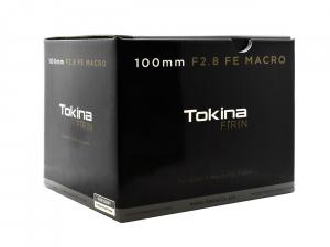 Tokina FiRIN 100mm f/2.8 FE obiectiv macro AF Sony E2