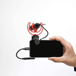 Boya sistem prindere microfon pentru smartphone2