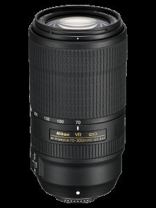 Nikon AF-P Nikkor 70-300mm F4.5-5.6E ED VR FX
