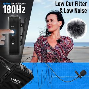 Synco G1 Lavaliera Wireless cu microfon incorporat6