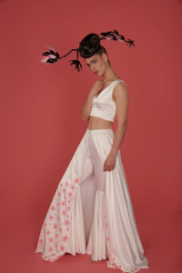 Colorama fundal foto Coral Pink6