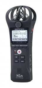Zoom H1n 2 intrari reportofon portabil cu microfoane built-in X/Y (Negru) [1]