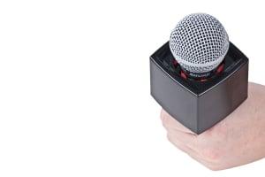 Rycote cub microfon pentru interviu TVnegru [1]