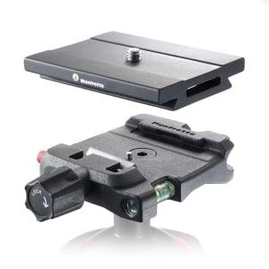Manfrotto Q6 Top Lock quick release adaptor complet cu placuta [0]