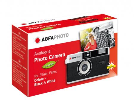 AgfaPhoto Aparat pe film 35mm reutilizabil negru [1]