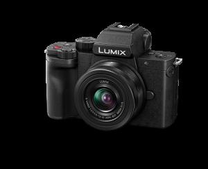 Panasonic Lumix DC-G100V cu obiectiv 12-32mm si grip wireless [5]