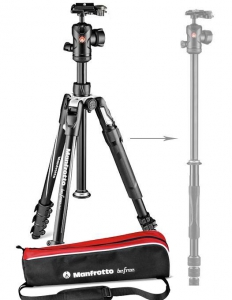 Manfrotto Befree 2N1 trepied foto cu transformare in monopied0