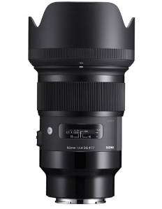 Sigma 50mm Obiectiv Foto Mirrorless f1.4 DG HSM ART SONY E