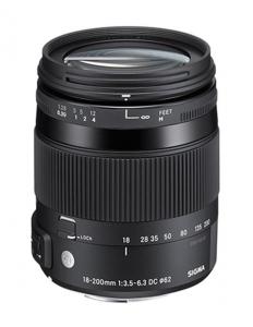 Sigma 18-200mm Obiectiv Foto DSLR f3.5-6.3 DC Macro OS HSM C NIKON0