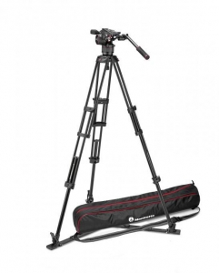 Manfrotto Nitrotech N8 kit trepied video2