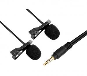 Boya BY-M1DM microfon lavaliera dubla2