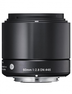 Sigma 60mm f/2.8 DN Art Negru Sony E