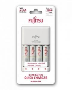 Fujitsu Incarcator cu acumulatori 4 x AA  Ni-MH, 21002