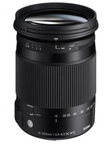 Sigma 18-300mm f/3.5-6.3 DC MACRO OS HSM C Canon1