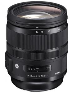 Sigma 24-70mm Obiectiv Foto DSLR f/2.8 OS DG HSM ART CANON0