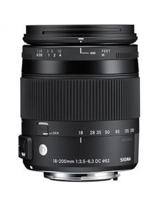 Sigma 18-200mm Obiectiv Foto DSLR f3.5-6.3 DC Macro OS HSM C NIKON1