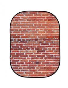 Lastolite fundal pliabil Red Brick/Grey Stone 1.5 x 2.1m1