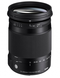 Sigma 18-300mm Obiectiv Foto DSLR f3.5-6.3 DC MACRO NIKON