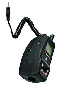Manfrotto 521LX telecomanda camera video1