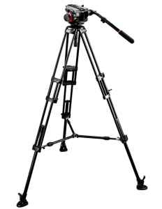Manfrotto kit trepied video 504HD,546BK1