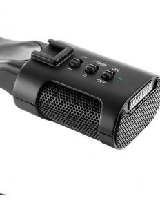 MicRig Stereo maner cu microfon pentru camere video8