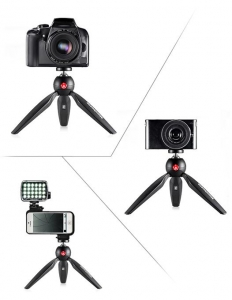 Manfrotto Pixi mini trepied foto Negru2