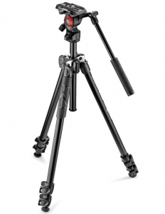 Manfrotto 290LTA kit trepied video Open Box