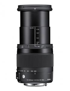 Sigma 18-200mm Obiectiv Foto DSLR f3.5-6.3 DC Macro OS HSM C CANON3