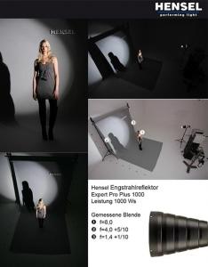 Hensel reflector Narrow Angle 923