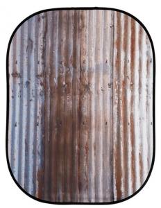 Lastolite Fundal pliabil Corrugated/Metal 1.5x2.1m1