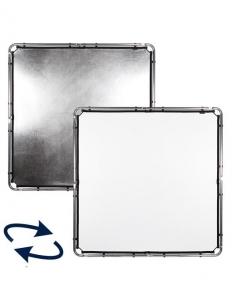 Lastolite Skylite Rapid Panza Silver/White 1.5x1.5m0