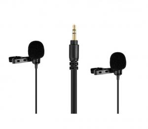 Boya BY-LM300 microfon lavaliera dubla1