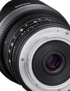 Samyang obiectiv 10mm T3.1 MFT VDSLR2